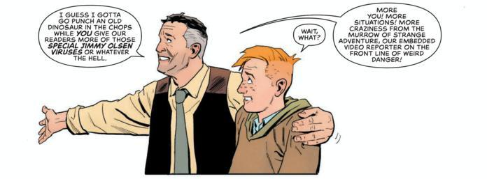 Jimmy Olsen #1 Review - Perry White