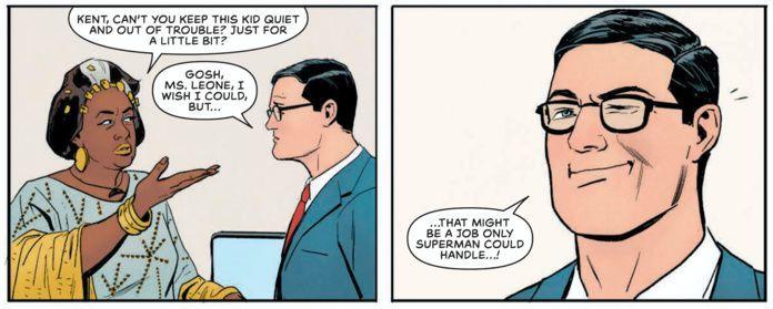 Jimmy Olsen #1 Review - Superman Gag