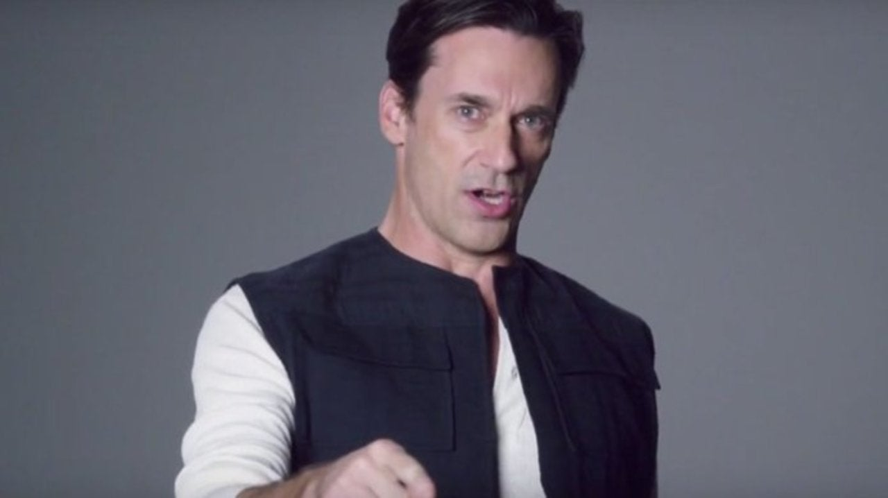 Jon Hamm Disappointed He Hasn't Been in a Star Wars Movie Yet
