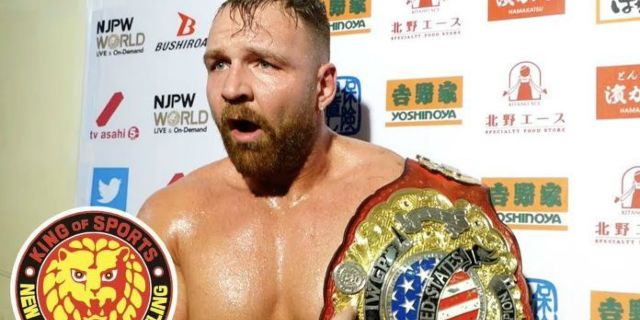 Jon Moxley Booked for Another Match in New Japan Pro Wrestling