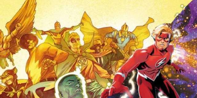 DC To Launch New Stories Featuring Wally West, the Justice Society