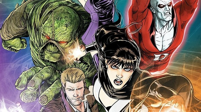 justice league dark tv series swamp thing