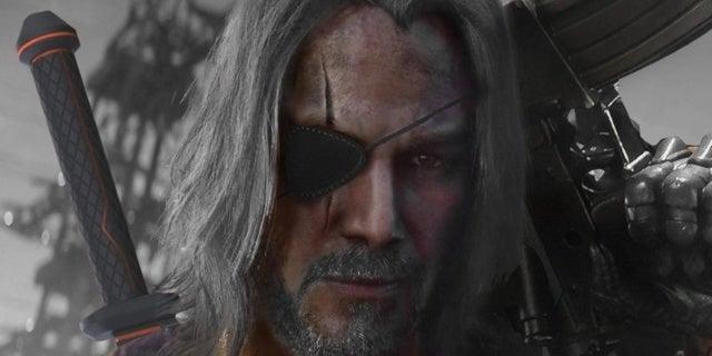 Here's What Keanu Reeves Could Look Like as Deathstroke