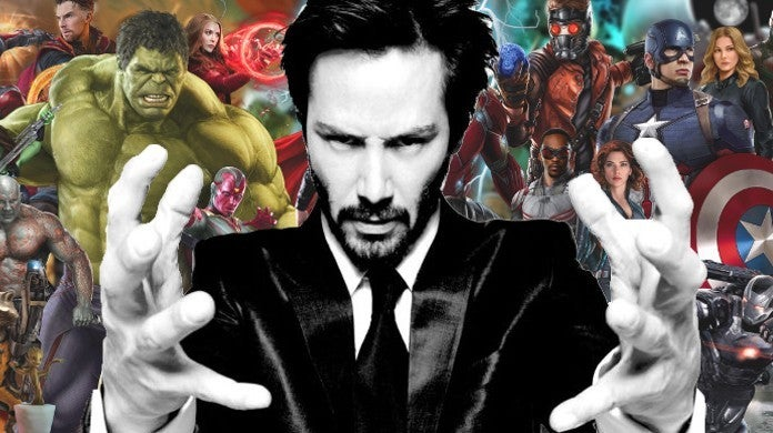 Keanu Reeves Marvel Cinematic Universe Character Casting