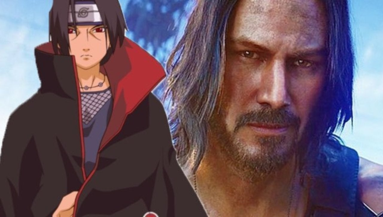 Keanu Reeves Channels Itachi In This Naruto Fan Cast