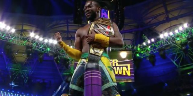Watch: Kofi Kingston Retains WWE Championship, Dolph Ziggler Demands Rematch in a Steel Cage