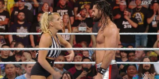 Lacey Evans Revealed as Baron Corbin's Special Guest Referee