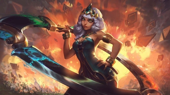 League of Legends Qiyana