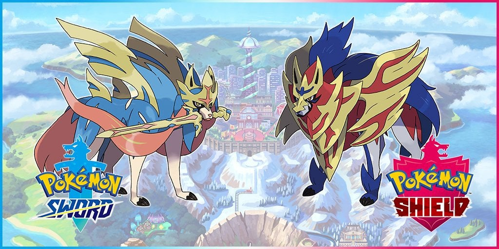 legendary pokemon sword