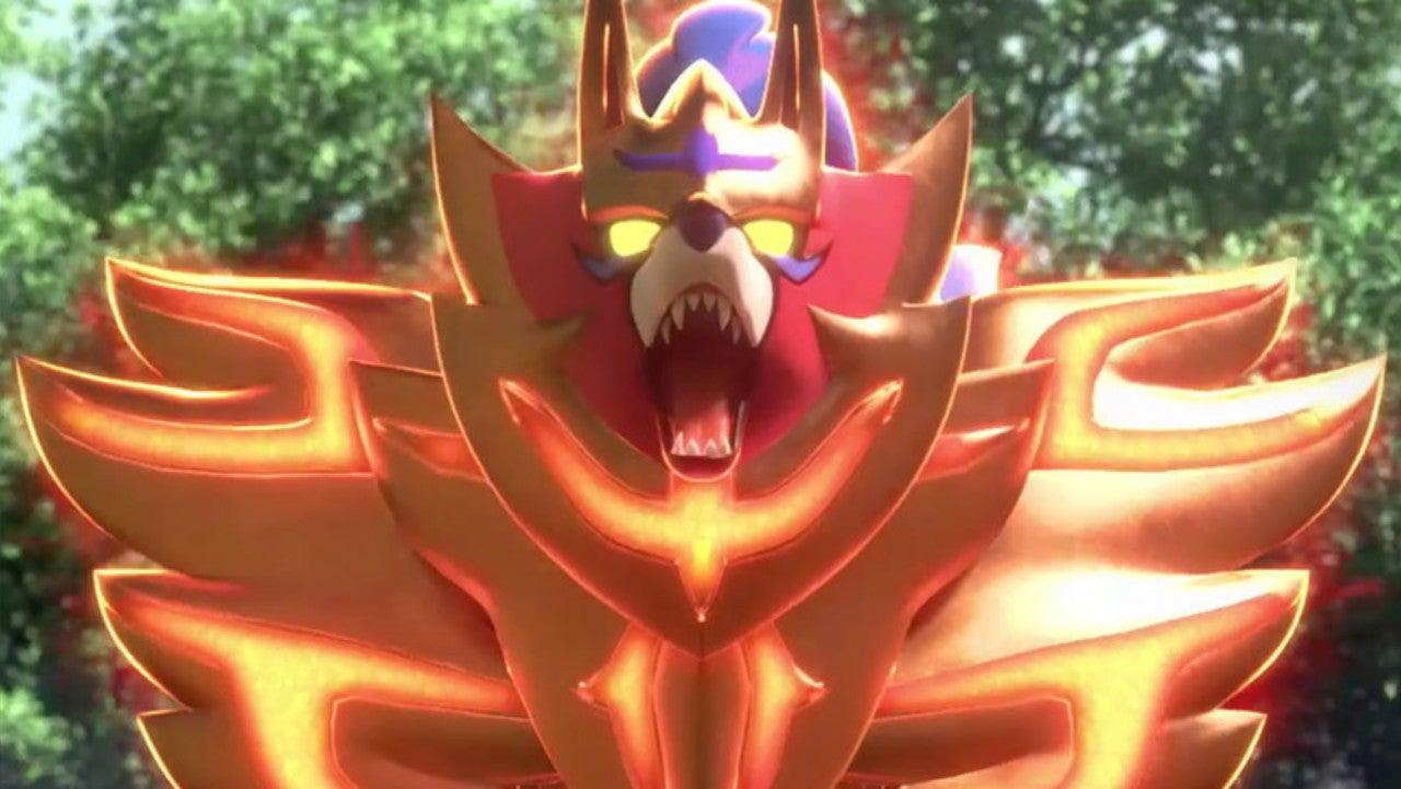 Pokemon Sword Shield Reveals New Legendary Pokemon Adds Huge New