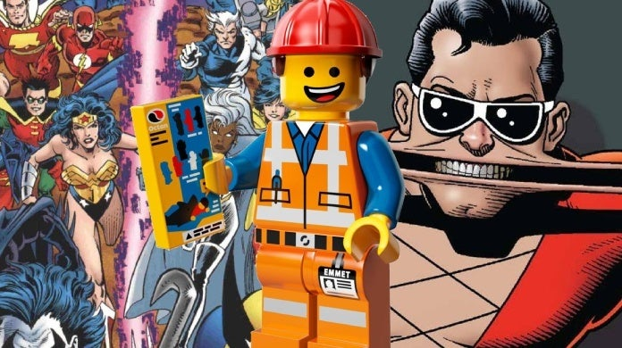 lego movie 2 mike mitchell marvel dc plastic man