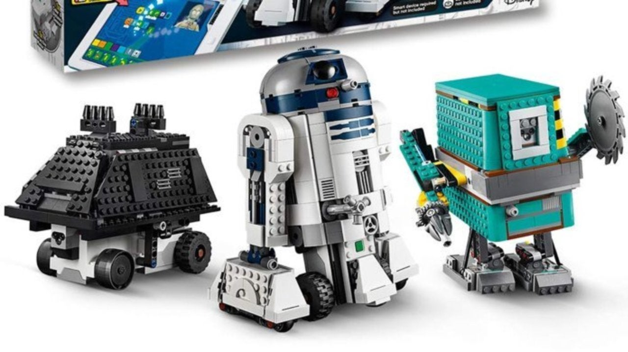 LEGO's Star Wars Boost Droid Commander Coding Set is