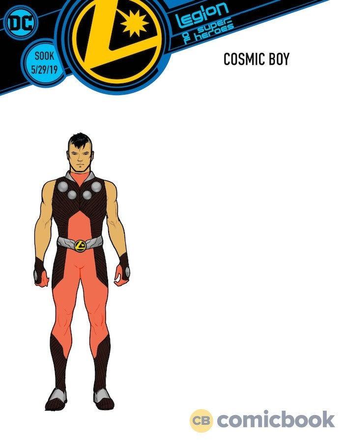 DC Announces Legion of Super-Heroes: Millennium With Brian