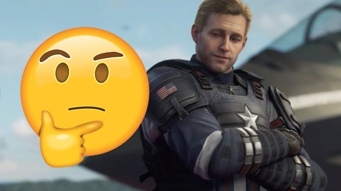 marvel's avengers captain america reacts