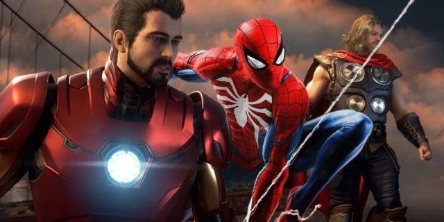 Marvel's Avengers Spider-Man PS4