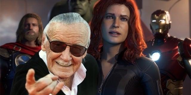 Marvel's Avengers Stan Lee Cameo