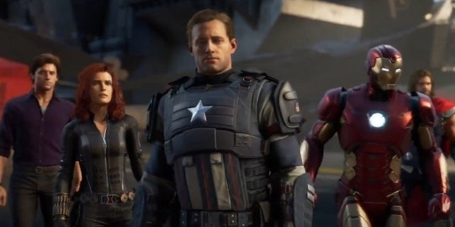 Marvel's Avengers Team