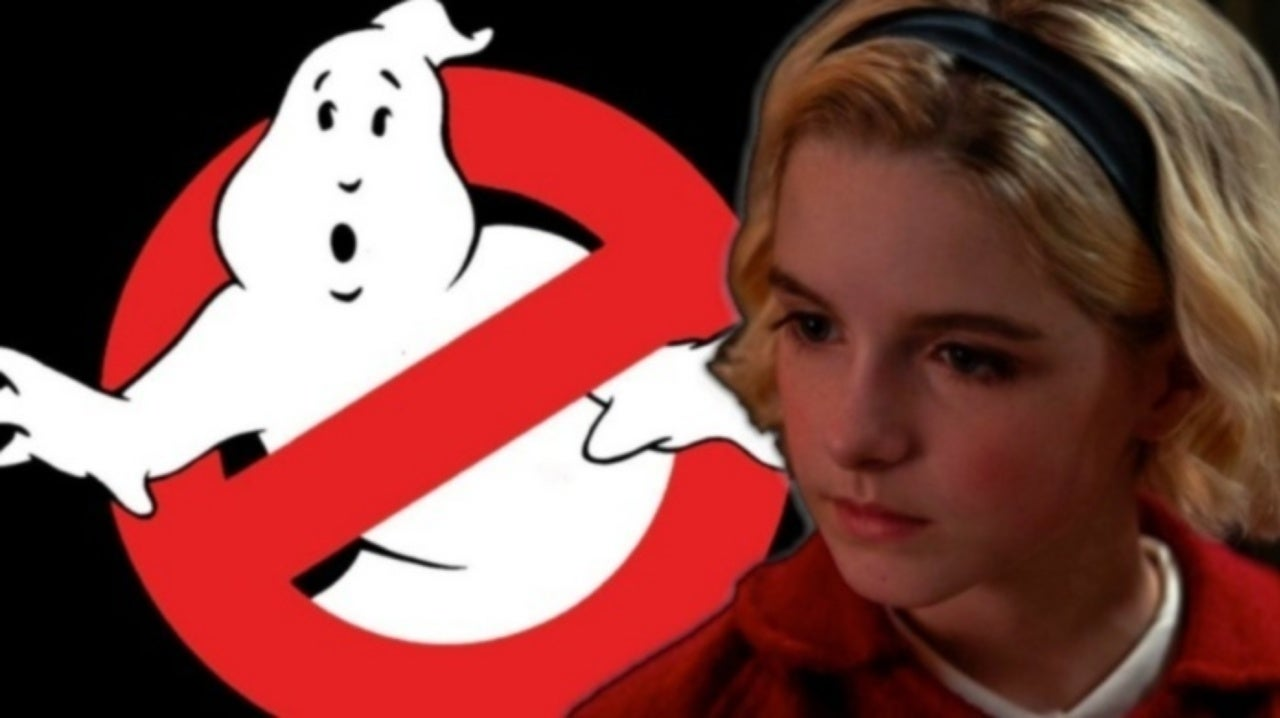 Ghostbusters 3 Made Star Mckenna Grace Sob