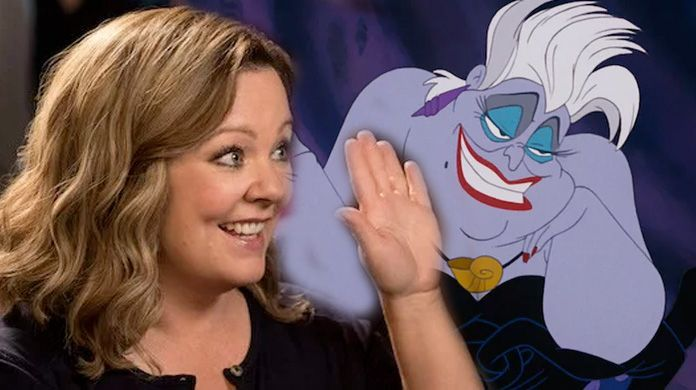 melissa mccarthy little mermaid ursula