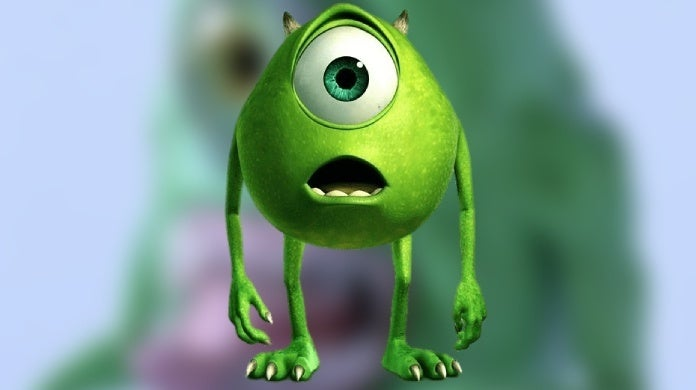 mike wazowski fanart monsters inc