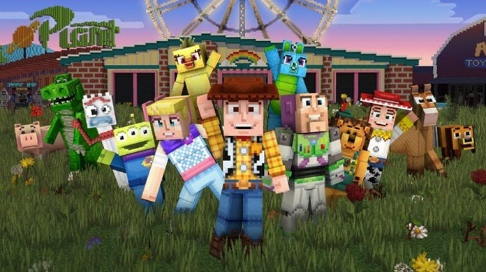 Minecraft Toy Story Mash-Up