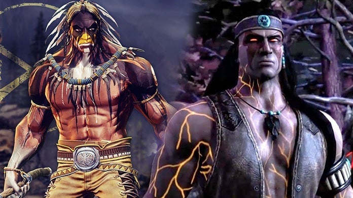 Mortal Kombat 11 Nightwolf Thunder Killer Instinct