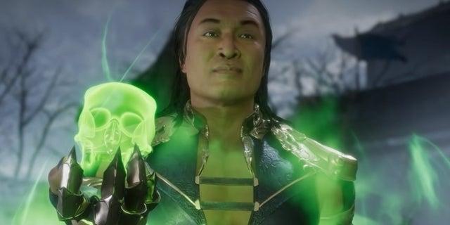 Chilling Mortal Kombat Reboot Fan Poster Imagines Chin Han as Shang Tsung