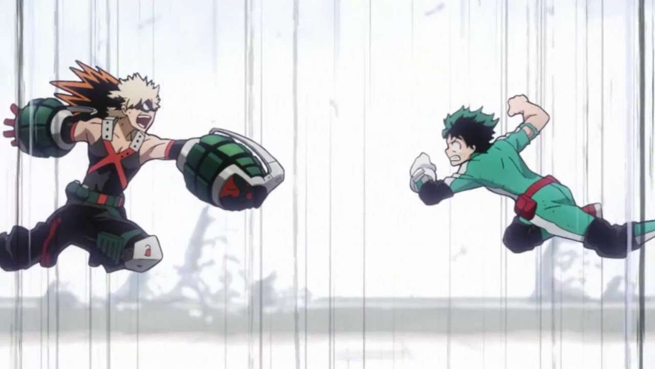 This My Hero Academia Fan Video Imagines One Epic Pro Hero Battle