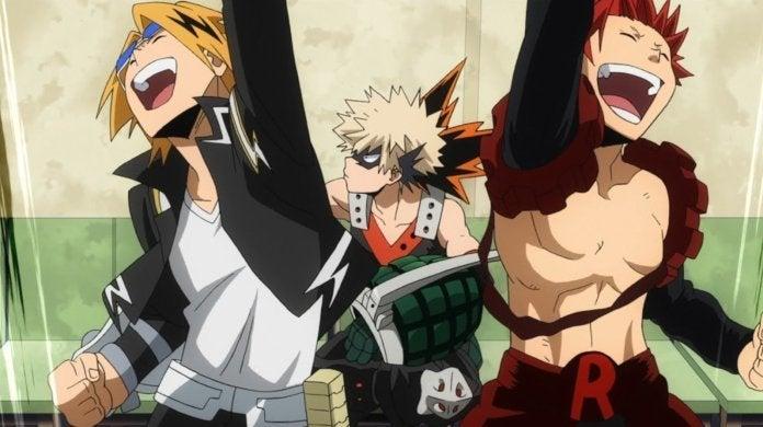 My-Hero-Academia-Kirishima-Kaminari-Bakugo