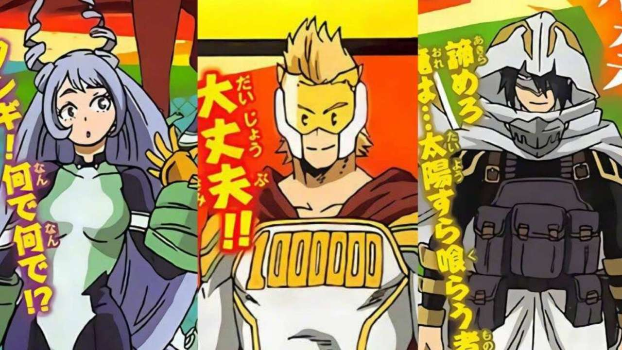 My Hero Academia Fans React To The Big Three S Anime Designs