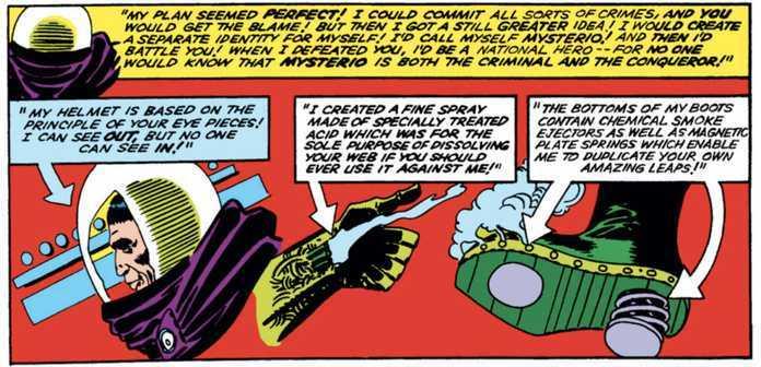 Mysterio Explainer - Steve Ditko