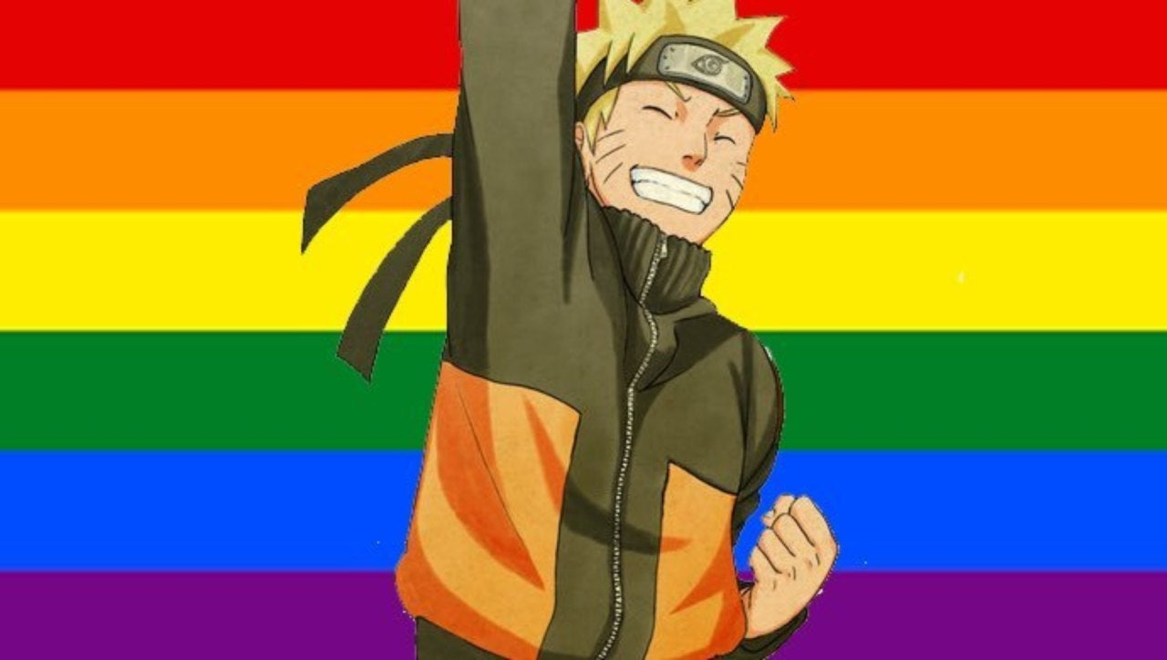 Naruto Goes Viral After Colorful Pride Parade Outing