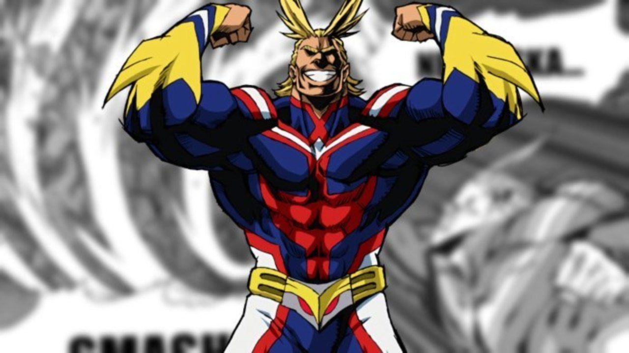My Hero Academia Debuts New All Might Smash