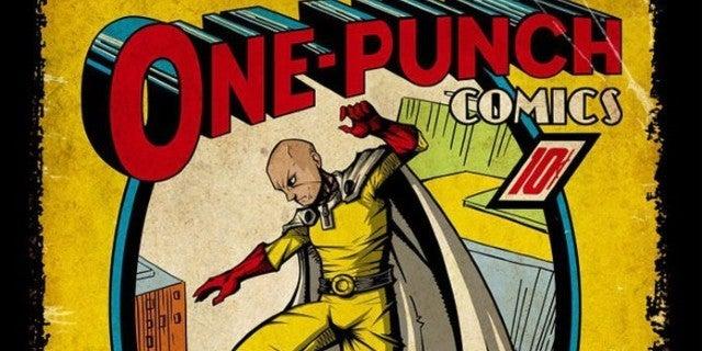 One-Punch Man Action Comics Cover Fan Art
