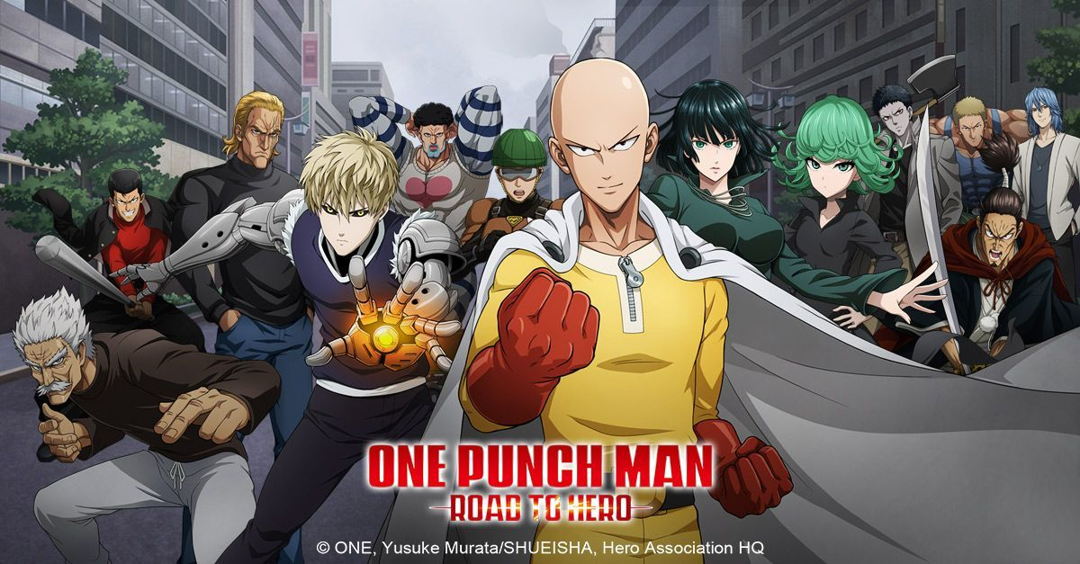 Image result for one punch man road to hero ios