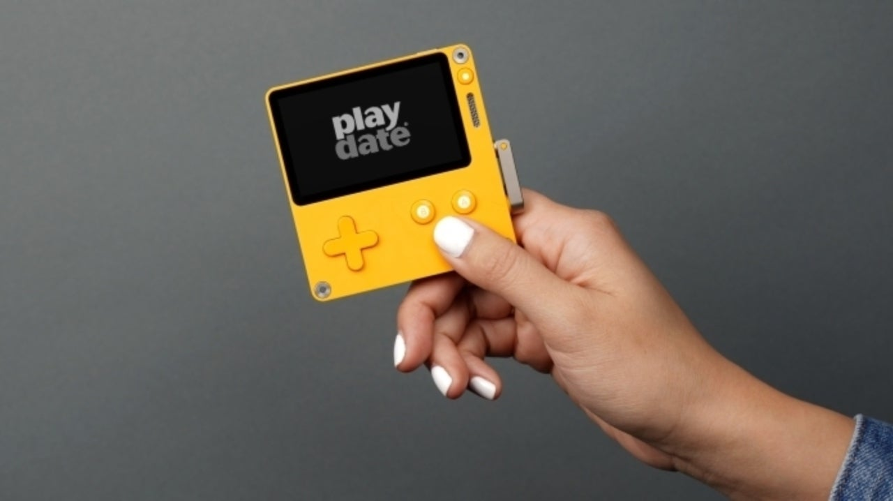Here's What the Handheld Gaming System Playdate Looks Like in Action