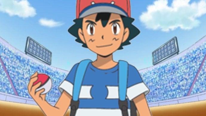 pokemon sun moon ash league alola premiere