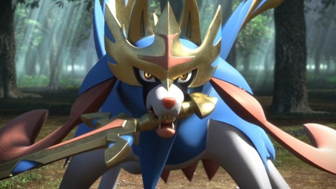 Pokemon Sword Shield Fans Compare New Legendary To Sif From Dark Souls