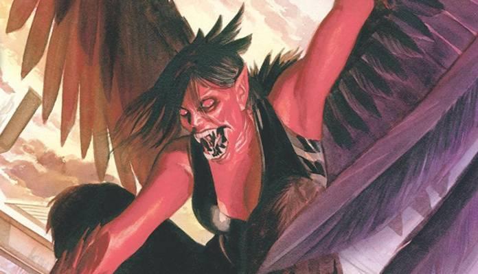 Red Hulk Harpy Betty Ross - Cover