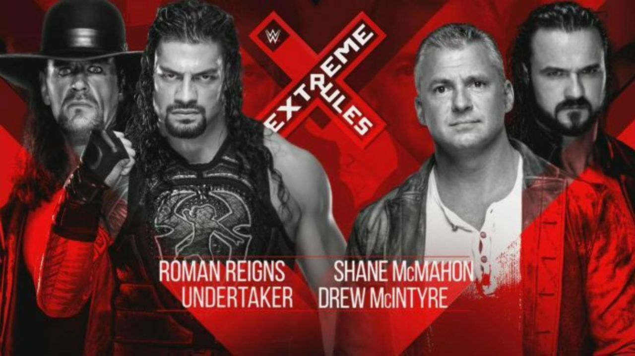 The Undertaker and Roman Reigns' Match at Extreme Rules Just Received a New Stipulation