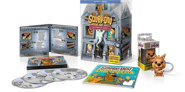 Save 30% on the Scooby-Doo Limited Edition Complete Series Blu-ray Box Set