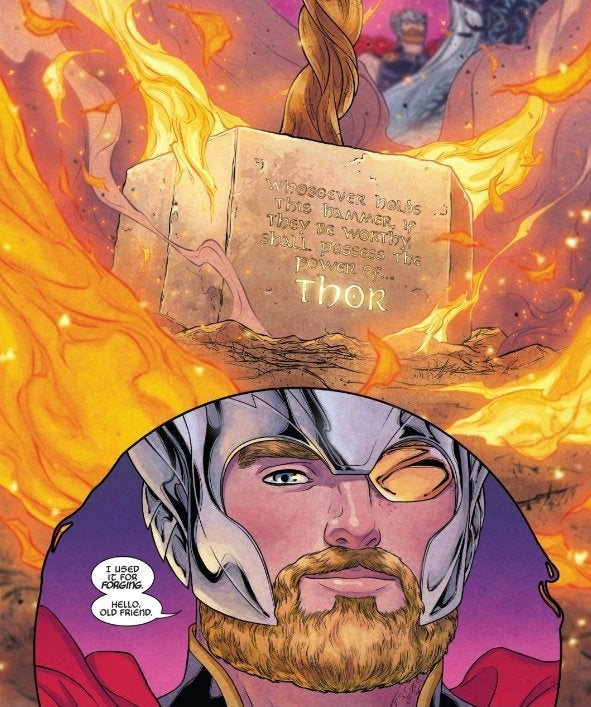 war of the realms mjolnir