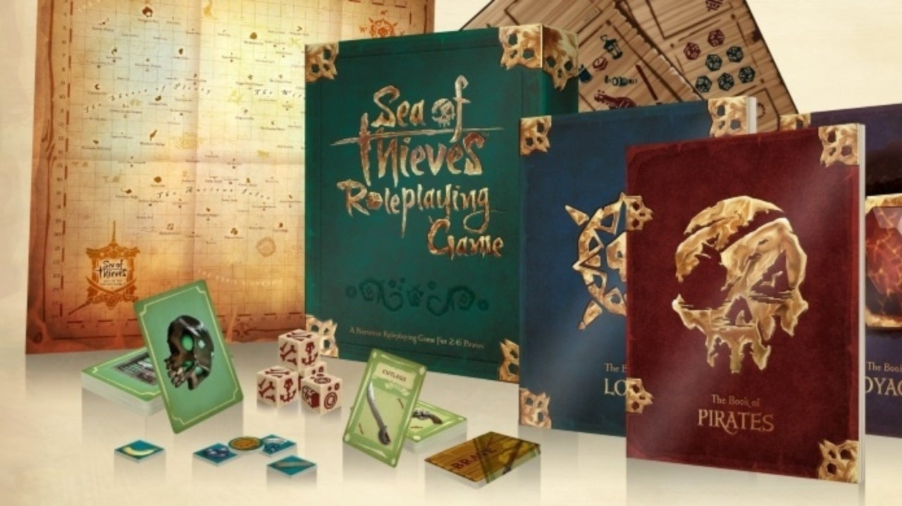 Sea of Thieves Announces Tabletop RPG