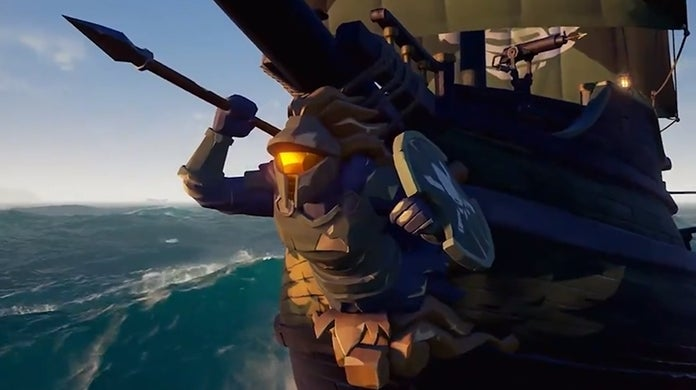 Sea of Thieves Spartan Ship Set Halo