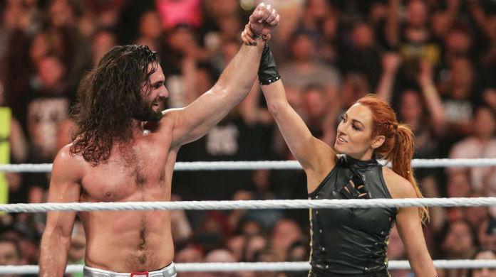 Seth Rollins Becky Lynch