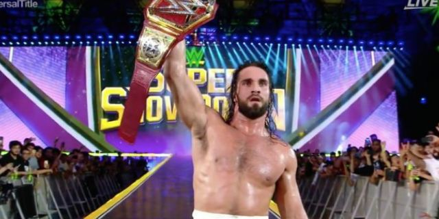 Seth Rollins Retains WWE Universal Championship, Prevents Brock Lesnar From Cashing in