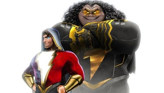 shazam black adam disney