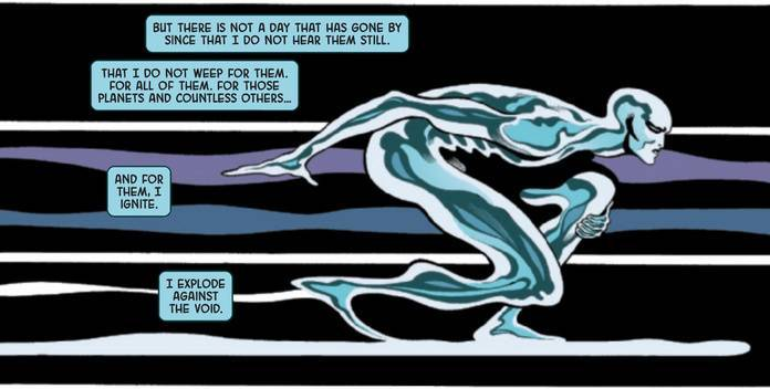 Silver Surfer Black #1 Review - Loneliness