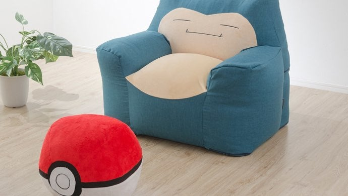 snorlax bean bag chair pokemon