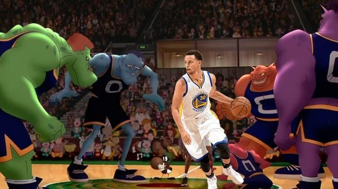 space jam 2 steph curry cameo